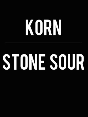 Korn and Stone Sour Poster