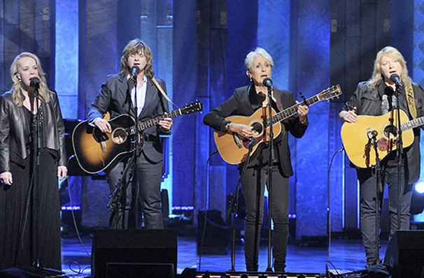 Four Voices Joan Baez Mary Chapin Carpenter and Indigo Girls, Massey Hall, Toronto