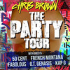 Chris Brown with 50 Cent and Fabolous, Time Warner Cable Arena, Charlotte