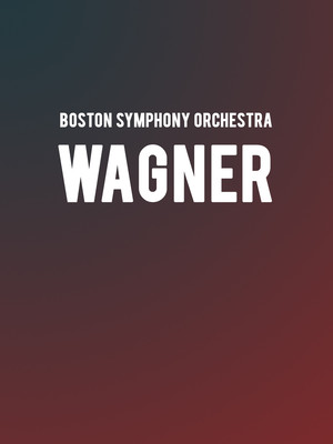 Boston Symphony Orchestra Wagner, Tanglewood Music Center, Boston