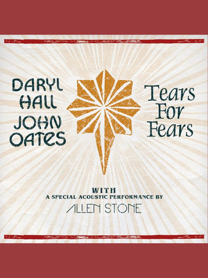 Hall and Oates and Tears for Fears Poster