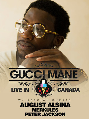 Gucci Mane at Burton Cummings Theatre