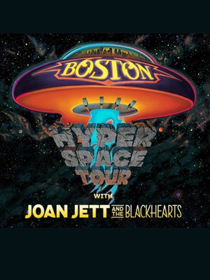 Boston with Joan Jett and The Blackhearts Poster