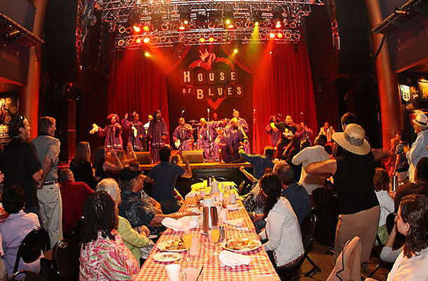 Gospel Brunch, House of Blues, Houston