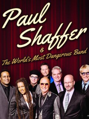 Paul Shaffer at Heinz Hall