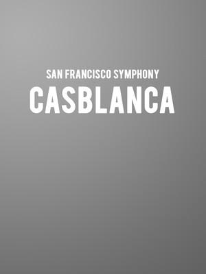 San Francisco Symphony Casablanca, Davies Symphony Hall, San Francisco
