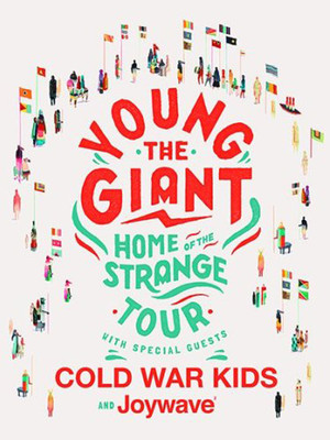 Young the Giant with Cold War Kids Poster
