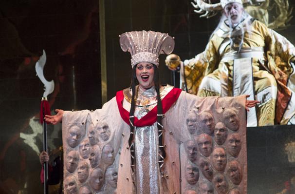 Atlanta Opera Turandot, Cobb Energy Performing Arts Centre, Atlanta