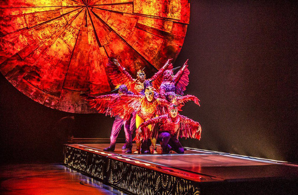 Cirque du Soleil Luzia, Grand Chapiteau at Pepsi Center, Denver