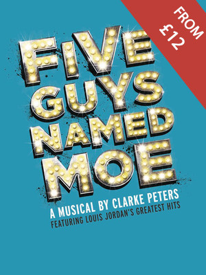 Five Guys Named Moe Poster