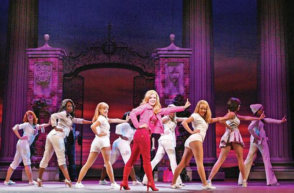Legally Blonde, Bonstelle Theatre, Detroit