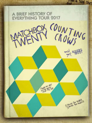 Matchbox Twenty and Counting Crows Poster