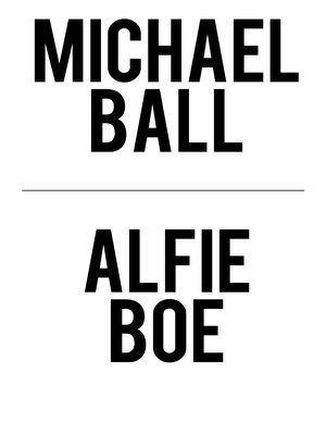 Michael Ball and Alfie Boe at New York City Center Mainstage