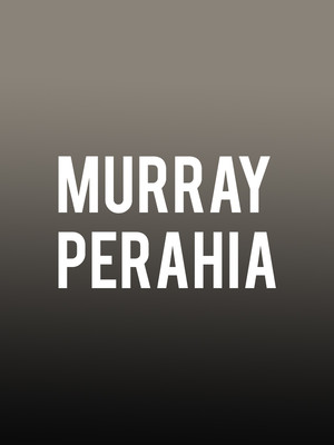 Murray Perahia at Renee and Henry Segerstrom Concert Hall