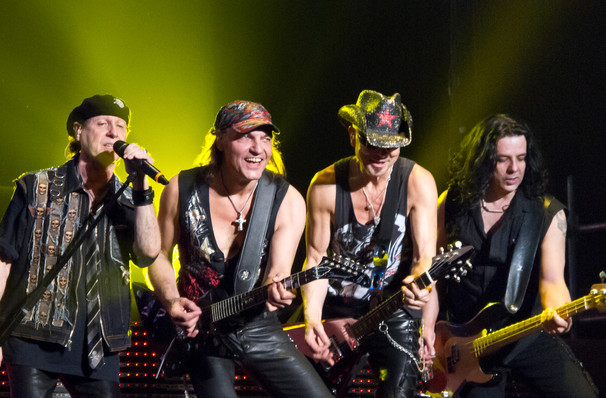 Scorpions and Megadeth, Spokane Arena, Spokane
