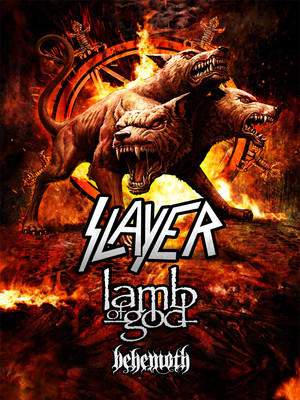 Slayer with Lamb of God Poster