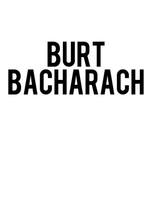 Burt Bacharach at Saban Theater