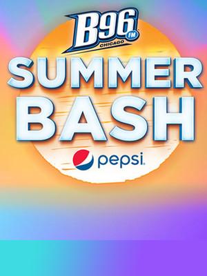 B96 Summer Bash Poster