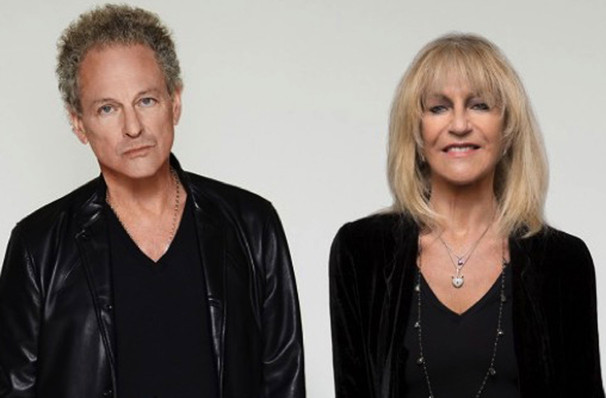 Lindsey Buckingham and Christine McVie, Northrop Auditorium, Minneapolis