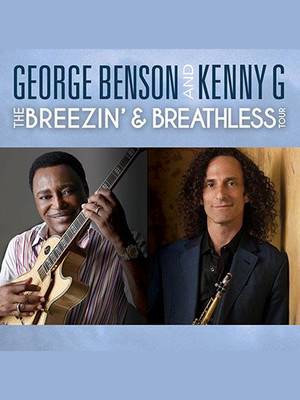 George Benson and Kenny G Poster