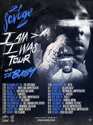 21 Savage, Paul Tsongas Arena, Lowell