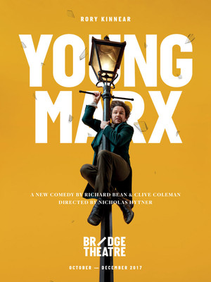 Young Marx, Bridge Theatre, London