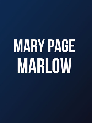 Mary Page Marlowe Poster