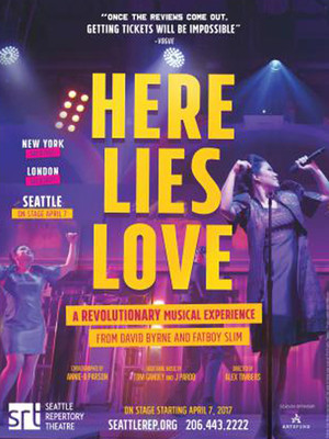 Here Lies Love, Seattle Repertory Theatre, Seattle