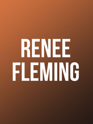 Renee Fleming, Manitoba Centennial Concert Hall, Winnipeg