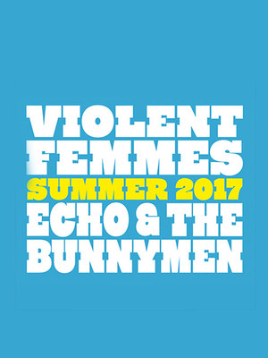 Violent Femmes and Echo and the Bunnymen Poster