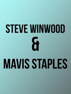 Steve Winwood and Mavis Staples, Hollywood Bowl, Los Angeles