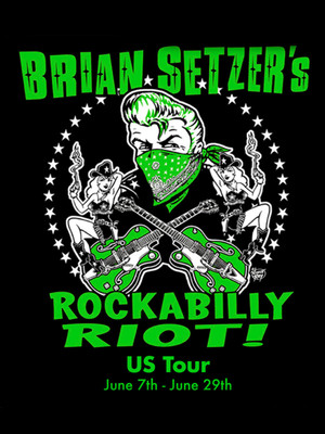 Brian Setzer Orchestra - Rockabilly Riot at Westhampton Beach Performing Arts Center