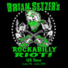 Brian Setzer Orchestra Rockabilly Riot, Carnegie Library Music Hall Of Homestead, Pittsburgh