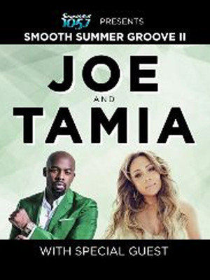 Joe and Tamia Poster