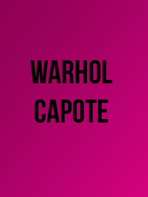 WarholCapote Poster