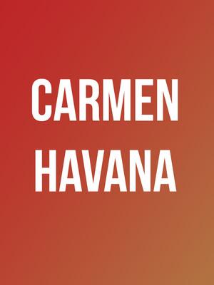 Carmen Havana Poster