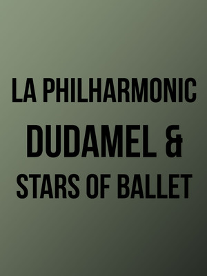 Los Angeles Philharmonic Dudamel and Stars of Ballet, Hollywood Bowl, Los Angeles