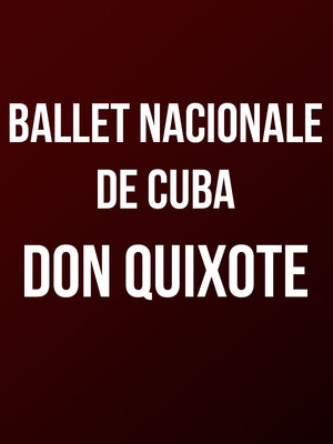 Ballet Nacional De Cuba at Auditorium Theatre