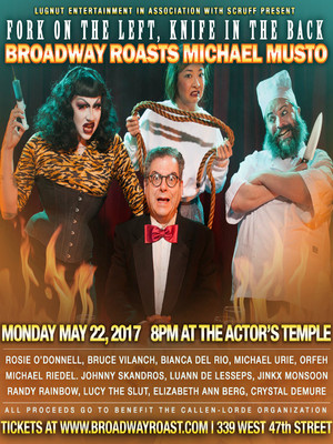Broadway Roasts Michael Musto at Actors Temple Theater