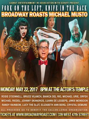 Broadway Roasts Michael Musto Poster