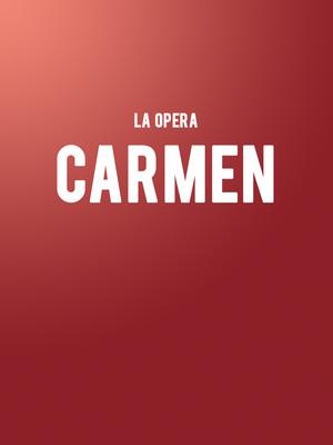 LA Opera - Carmen at Dorothy Chandler Pavilion