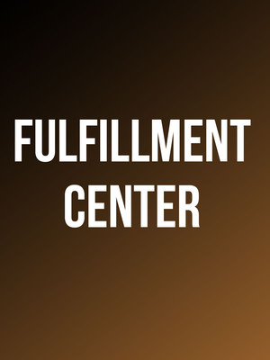 Fulfillment Center at New York City Center Stage II