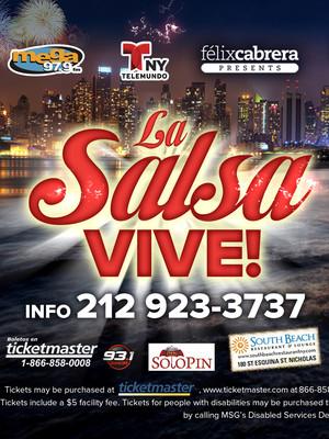 La Salsa Vive Poster
