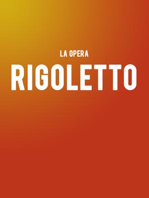 La Opera - Rigoletto Poster