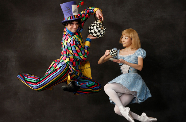 Oregon Ballet Alice in Wonderland, Keller Auditorium, Portland