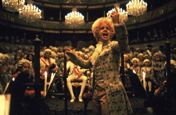San Francisco Symphony Amadeus Film With Live Orchestra, Davies Symphony Hall, San Francisco