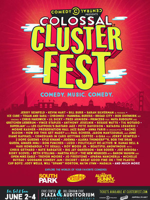 2017 Colossal Clusterfest - 3 Day Pass Poster