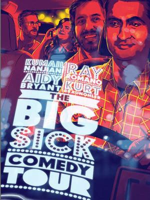 The Big Sick Tour feat. Kumail Nanjiani & Ray Romano Poster