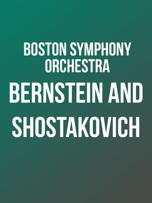 Boston Symphony Orchestra at Isaac Stern Auditorium
