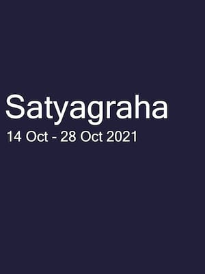 Satyagraha at London Coliseum